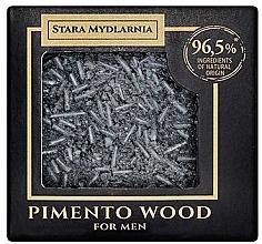 Kup Twardy szampon do włosów dla mężczyzn - Stara Mydlarnia Pimento Wood Shampoo Bar