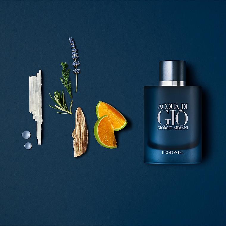 Giorgio Armani Acqua di Gio Profondo - Woda perfumowana — фото N3