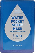 Kup Nawilżająca maska w płachcie do twarzy - Laneige Water Pocket Sheet Mask Water Bank
