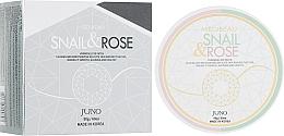 Kup Hydrożelowe płatki pod oczy Śluz ślimaka i róża - Juno Medibeau Hydrogel Eye Patches Snail&Rose