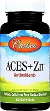 Kup Antyoksydanty w żelowych kapsułkach - Carlson Labs Aces + Zn Antioxidant
