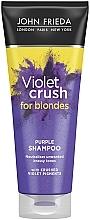 Kup Szampon przywracający chłodny odcień blondu - John Frieda Sheer Blonde Violet Crush