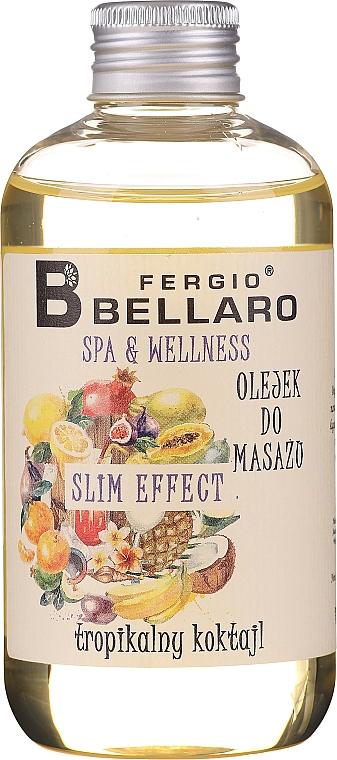 Owocowy olejek do masażu ciała - Fergio Bellaro Massage Oil