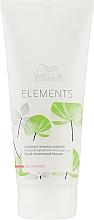 Kup Lekka odżywka bez parabenów do włosów potrzebujących regeneracji - Wella Professionals Elements