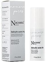 Kup Serum do twarzy na noc z kwasem salicylowym 2% - Nacomi Next Level Salicylic Acid 2%