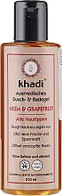 Kup Żel pod prysznic i do kąpieli Miodla indyjska i grejpfrut - Khadi Bath & Body Wash Neem & Grapefruit