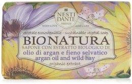 Kup Mydło Olej arganowy i dzikie siano - Nesti Dante Bio Natura Argan Oil & Wild Hay Soap
