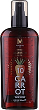 Kup Olejek do opalania - Mediterraneo Sun Carrot Suntan Oil Dark Tanning SPF 10