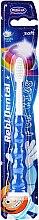 Kup Miękka szczoteczka do zębów dla dzieci M14, niebieska - Mattes Rebi-Dental
