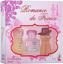 Kup Charrier Parfums Romance De France - Zestaw perfum (edp/11.5ml+edp/10.1ml+edp/12ml)
