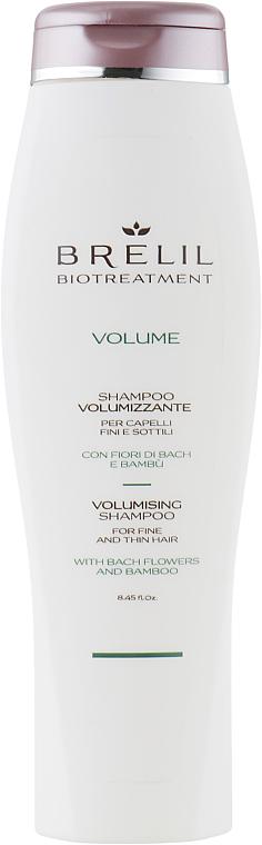PRZECENA! Szampon dodający objętości włosom cienkim - Brelil Bio Treatment Volume Shampoo * — фото N1