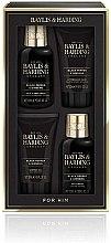Kup Zestaw prezentowy dla mężczyzn - Baylis & Harding Men's Black Pepper & Ginseng Set (h&b/wash 100 ml + ash/balm 50 ml + sh/gel 50 ml + wash 100 ml)