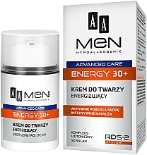 Kup Energizujący krem do twarzy dla mężczyzn 30+ - AA Men Advanced Care Energy Face Cream Energizing