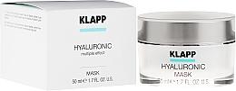 Kup Intensywnie nawilżająca maska hialuronowa do twarzy - Klapp Hyaluronic Mask