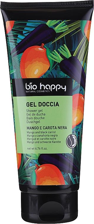 Żel pod prysznic Mango i czarna Marchewka - Bio Happy Shower Gel Mango And Black Carrot — фото N1