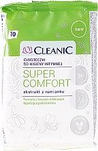 Kup Chusteczki do higieny intymnej, 10 szt - Cleanic Super Comfort Wipes