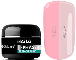 Kup Żel do paznokci - Silcare Nailo 1-Phase Gel UV French Pink