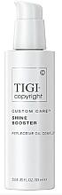 Kup Wzmacniający połysk booster do włosów - Tigi Copyright Custom Care Shine Booster