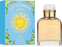 Kup Dolce & Gabbana Light Blue Sun Pour Homme - Woda toaletowa