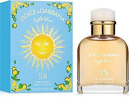Dolce & Gabbana Light Blue Sun Pour Homme - Woda toaletowa — фото N1