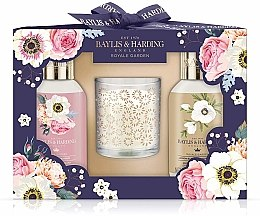 Kup Zestaw prezentowy - Baylis & Harding Royale Garden Set (sh/gel 100 ml + sh/cream 100 ml + candle)