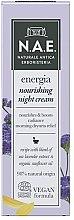 Kup Odżywczy krem do twarzy na noc - N.A.E. Energia Nourishing Night Cream