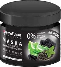 Kup Maska do włosów z aktywnym węglem - DermoFuture Hair Mask With Activated Carbon
