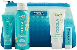 Kup Zestaw - Coola Classic Travel Kit(spray 60 ml + f/cr 25 ml + balm 4,2 g + lotion 60 ml)