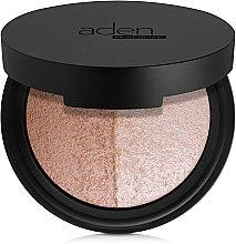 Kup Paletka do twarzy - Aden Cosmetics Highlighter & Bronzer Duo