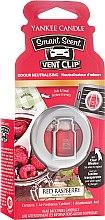 Kup Zapach do samochodu - Yankee Candle Smart Scent Vent Clip Red Raspberry