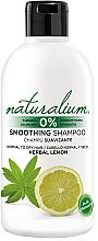 Kup Wygładzający szampon do włosów normalnych i suchych z wyciągiem z cytryny - Naturalium Herbal Lemon Smoothing Shampoo