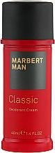 Kup Kremowy dezodorant dla mężczyzn - Marbert Man Classic Deodorant Cream
