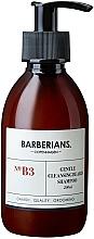 Kup Bezzapachowy szampon do mycia i pielęgnacji brody - Barberians. №B3 Cleansing Beard Shampoo