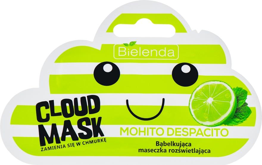 Bąbelkująca maseczka rozświetlająca Mohito Despacito - Bielenda Cloud Mask