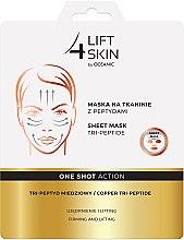 Kup Maska na tkaninie z peptydami Tri-peptyd miedziowy - Lift4Skin One Shot Action