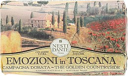 Kup Naturalne mydło w kostce Złoty krajobraz - Nesti Dante Emozioni in Toscana Campagna Dorata
