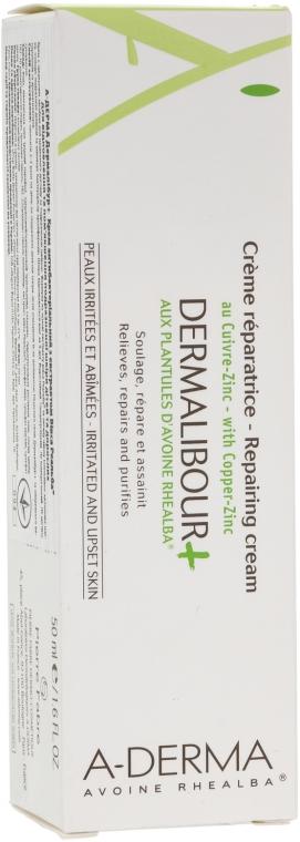 Antybakteryjny krem z ekstraktem z owsa Rhealba - A-Derma Dermalibour+ Creme — фото N1