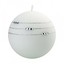 Kup Świeca dekoracyjna, biała kula, 10 cm - Artman Kolia