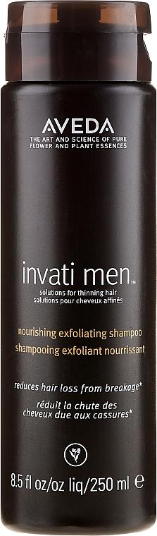Szampon do delikatnego oczyszczania skóry głowy dla mężczyzn - Aveda Invati Men Nourishing Exfoliating Shampoo