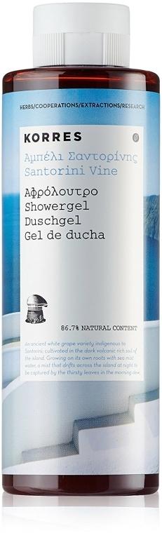 Żel pod prysznic Kwiat winorośli - Korres Santorini Vine Shower Gel — фото N1