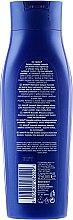 Mleczny szampon do włosów cienkich - Nivea Hair Milk Regeneration Milk Proteins&Eucerit Shampoo — фото N4