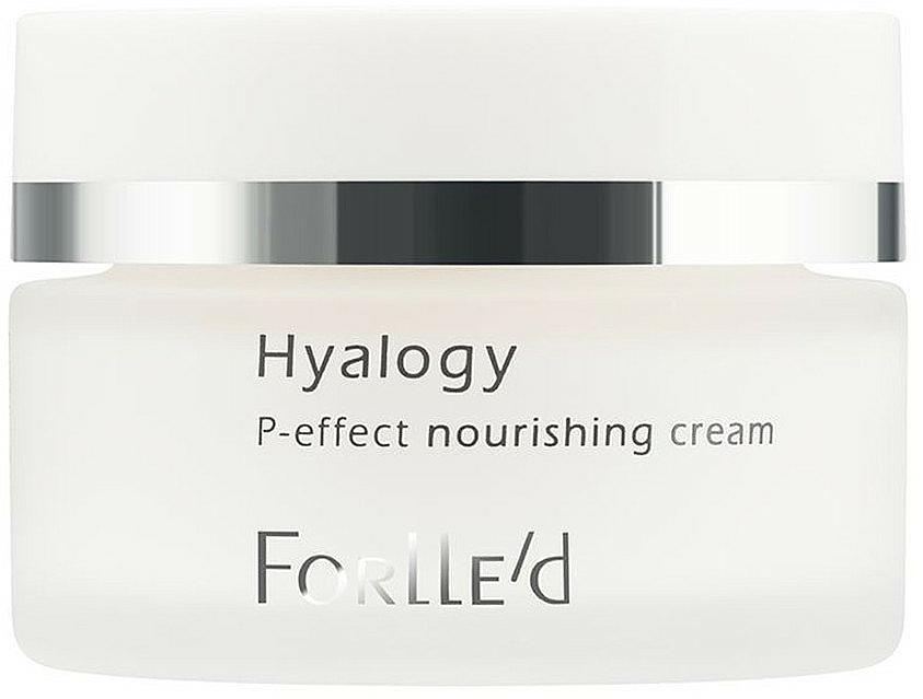 Odżywczy krem do twarzy - ForLLe'd Hyalogy P-effect Nourishing Cream — фото N1