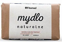 Kup Naturalne mydło w kostce Kokos, len i ostropest - Fitomed Soap
