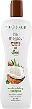 Kup Szampon nawilżający z Olejem kokosowym - Biosilk Silk Therapy with Coconut Oil Moisturizing Shampoo