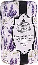Kup Mydło naturalne Lawenda i tymianek - Essencias De Portugal Natura Lavander&Thyme Soap