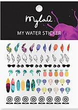 Kup Naklejki na paznokcie w wakacyjne wzory - MylaQ My Holiday Sticker