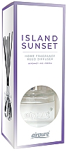 Kup Dyfuzor zapachowy - Airpure Reed Diffuser Island Sunset