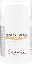 Kup Nawilżający krem do twarzy z kwasem hialuronowym - Le Chaton Argenté Hyaluronic Acid Cream