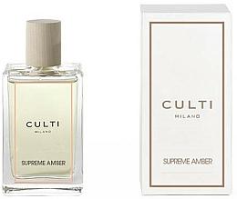 Kup Perfumowany spray do wnętrz - Culti Milano Room Spray Supreme Amber