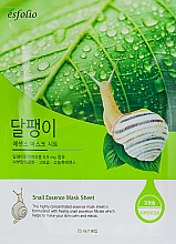 Kup Maska w płachcie do twarzy ze śluzem ślimaka - Esfolio Snail Essence Mask Sheet